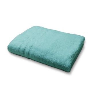 Drap de Bain en coton - 70 x 130 cm - Bleu menthe