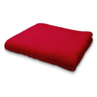 Maxi Drap de Bain en coton - 90 x 150 cm - Rouge
