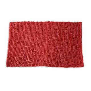 Tapis de salle de bain Bubble - 50 x 80 cm - Rouge