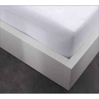 Protège matelas Alèse en coton By Night - 140 x 190 cm - Blanc