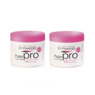 Lot de 2 - Masque capillaire Liss Extreme Hair Pro - Cheveux Rebelles - 500 ml