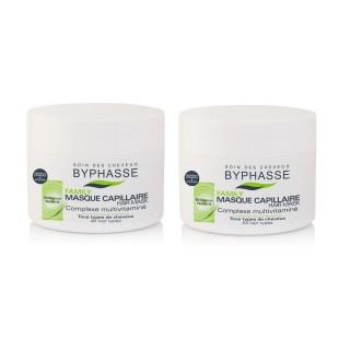 Lot de 2 - Masque capillaire Multivitaminé Family - Tous Types De Cheveux - 250 ml