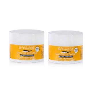 Lot de 2 - Masque capillaire à la Kératine Liquide - Cheveux Secs - 250 ml
