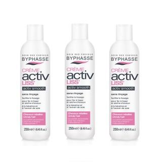 Lot de 3 - Crème protectrice cheveux Activ Liss' - Cheveux Rebelles - 250 ml