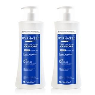 Lot de 2 - Gel douche Hydra-Doux Dermo - Peaux normales à sèches - 1 L