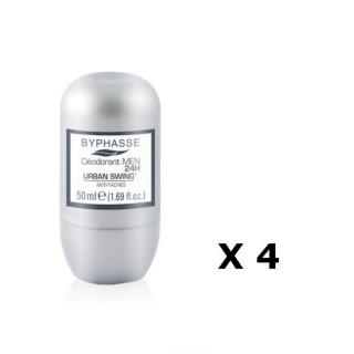 Lot de 2 - Déodorant Roll-On Men 24h - Urban Swing - 50 ml