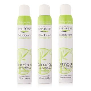 Lot de 3 - Déodorant Spray 24h - Bambou - 250 ml