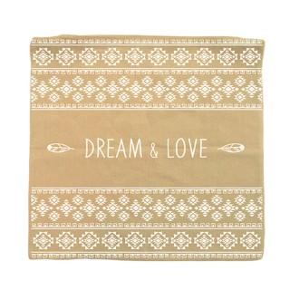 Housse pour coussin Ethnique - 40 x 40 cm - Dream love