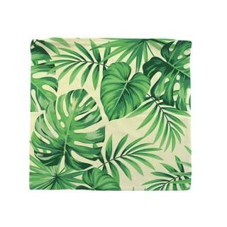 Housse pour coussin Jungle - 40 x 40 cm - Vert