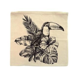 Housse pour coussin Jungle - 40 x 40 cm - Toucan