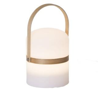 Lampe lanterne d'extérieur Mood - Diam. 14,5 cm - Blanc