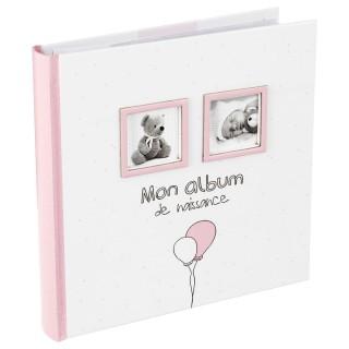 Album de naissance Bébé - 120 Photos - Rose
