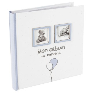 Album de naissance Bébé - 120 Photos - Bleu