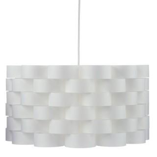 Suspension scandinave Moki - Diam. 42 cm - Blanc