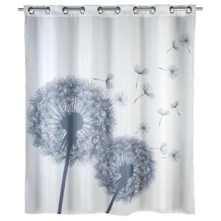 Rideau de douche anti-moisissure Astera - Polyester - 180 x 200 cm - Gris