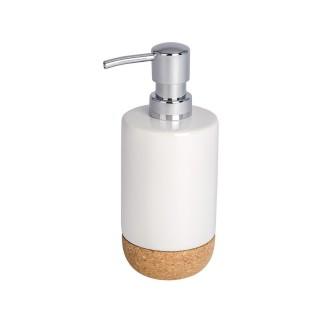 Distributeur de savon Corc - Céramique - Blanc