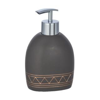 Distributeur de savon Etrusk - Polyrésine - Gris