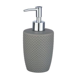 Distributeur de savon Punto - Céramique - Gris
