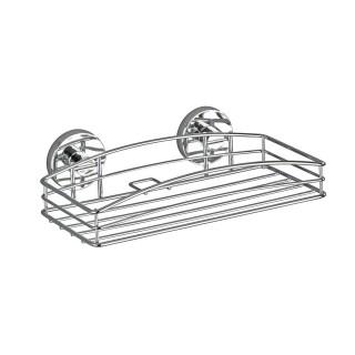 Etagère de douche ou baignoire Vacuum - Métal - 26 x 14 cm