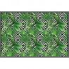 Tapis Vinyle rectangulaire Micronésie - 150 x 100 cm - Vert