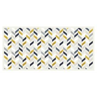 Tapis Vinyle rectangulaire Calcite - 200 x 120 cm - Blanc