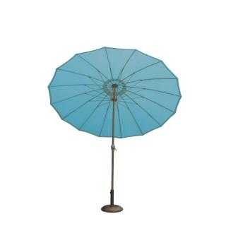 Parasol rond Orfeas - Diam. 2,70 m - Bleu canard