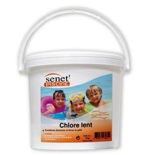 Galets de chlore lent 250 g - 3 kg