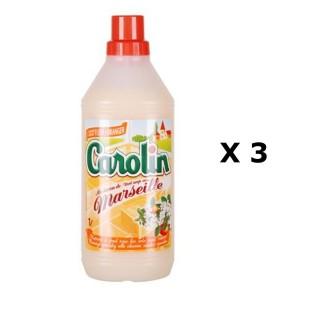 Lot de 3 - Nettoyant tous sols - 1 L - Fleur d'oranger