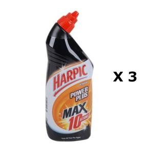 Lot de 3 - Gel Power Plus Max 10 - 750 ml