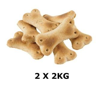 Lot de 2 - Biscuits Os - Viande de boeuf - Box de 2 kg
