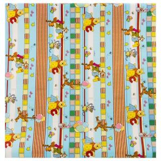 Papier cadeau Winnie - 200 x 70 cm - Multicolore