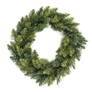 Couronne de Noël à customiser Blooming - Diam. 40 cm - Vert