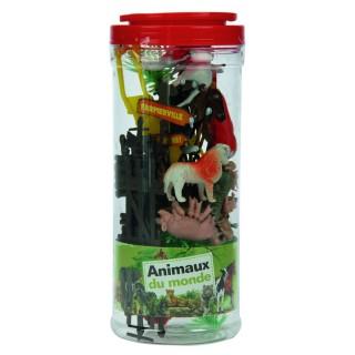 32 Figurines animaux de la ferme