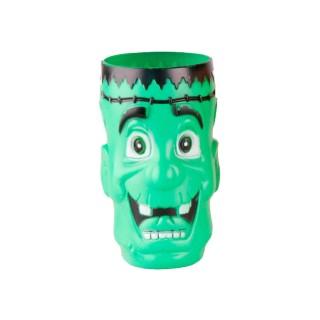 Décoration d'Halloween - Gobelet en plastique - Vert