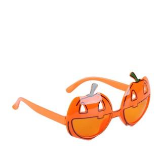 Déguisement d'Halloween - Lunettes citrouille - Orange