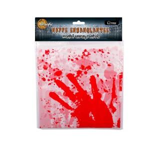 Décoration d'Halloween - Nappe tachée de sang - 137 x 220 cm