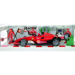 Formule 1 miniature - L. 25 cm - Rouge