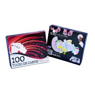 Coffret de magie - 100 Tours de cartes