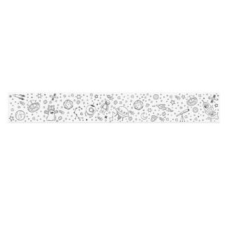 Rouleau de coloriage avec crayons - 1,5 Mètres - Espace