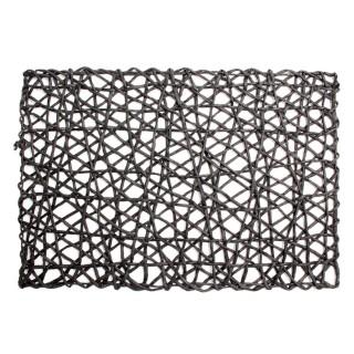 Set de table en papier - 45 x 30 cm - Noir