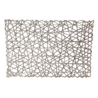 Set de table en papier - 45 x 30 cm - Gris