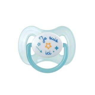 Tétine pour enfant phosphorescente - Bleu