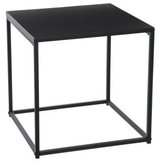 Table à café moderne Gota - 40 x H. 40 cm - Noir