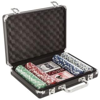 Mallette de poker - 200 Jetons - Noir