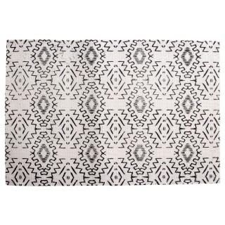 Set de table en tissu Ethnique - 45 x 30 cm - Blanc