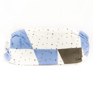 Housse à repasser T3 Duo - De 121 à 130 cm - Triangle bleu carré noir
