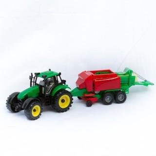 Jouet Tracteur avec remorque - Vert