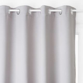 Rideau occultant Louna - 135 x 240 cm - Gris clair