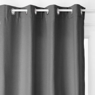 Rideau isolant Noa - 140 x 260 cm - Gris foncé
