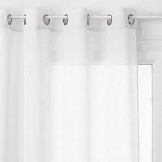 Voilage Georgette - 140 x 240 cm - Blanc